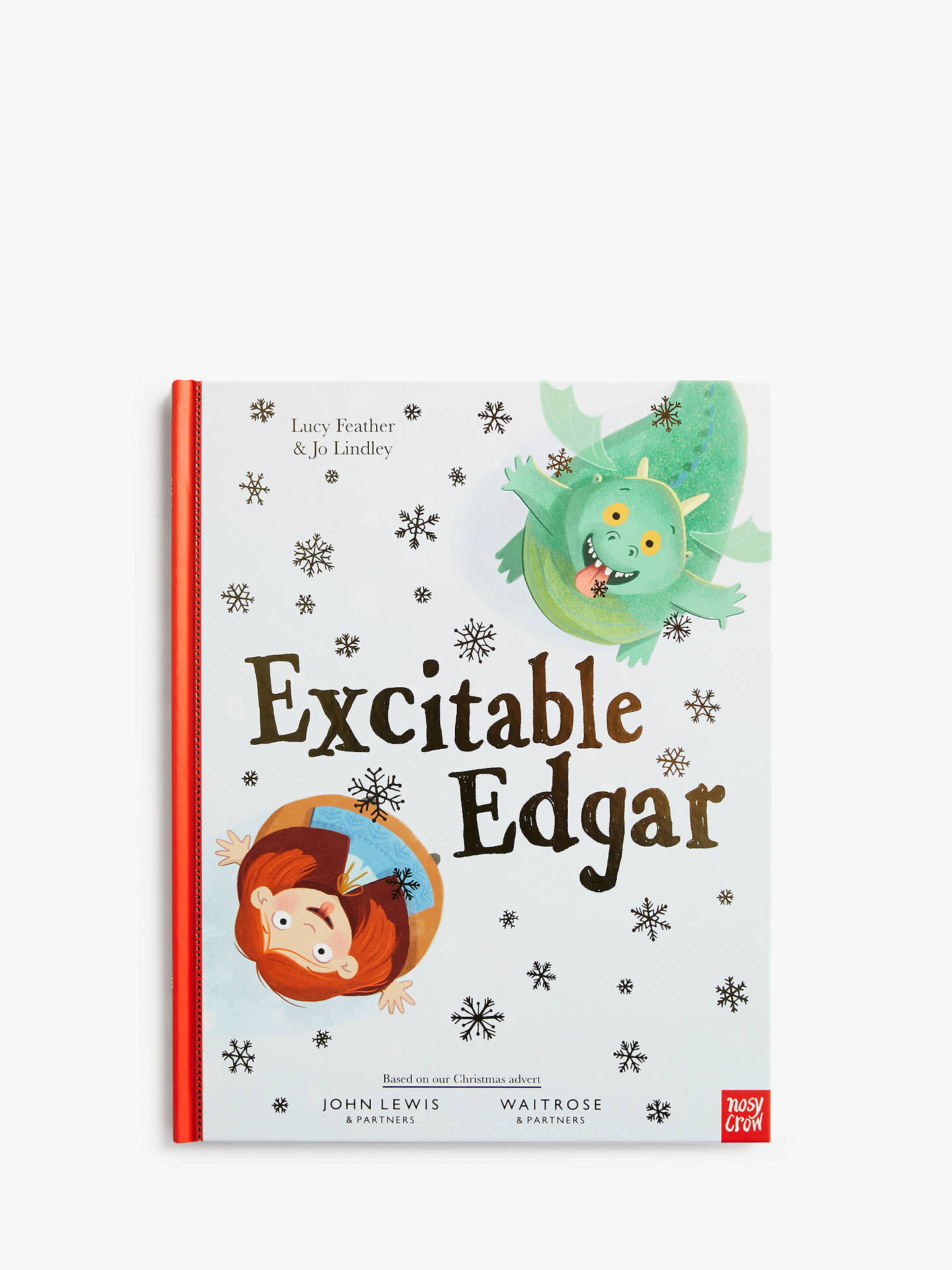 Buy Excitable Edgar Christmas Book Online at johnlewis.com