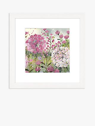 Jane Morgan - 'Passion 1' Framed Print & Mount, 33.5 x 33.5cm, Pink/Multi