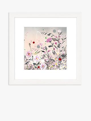 Jane Morgan - 'Poppy & Pinks' Framed Print & Mount, 33.5 x 33.5cm, Pink/Multi