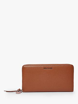 Ted Baker Juliza Leather Zip Matinee Purse