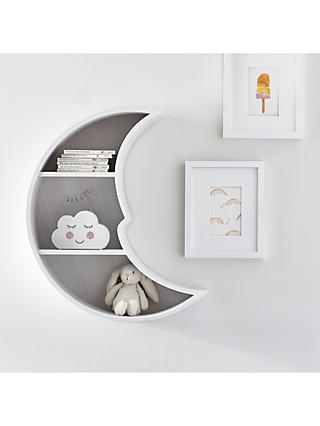 Pottery Barn Kids Moon Shaped Shelf