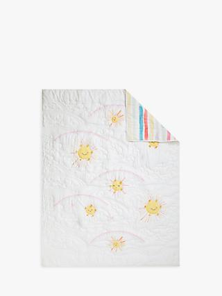 Pottery Barn Kids Sunshine Reversible Quilt