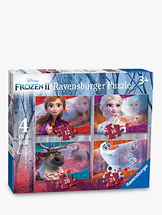 Disney Frozen II Ravensburger Jigsaw Puzzle, Pack of 4