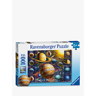 Image of Ravensburger The Planets XXL Puzzle, 100 Pieces