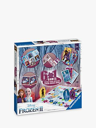 Disney Frozen II 6-in-1 Game Collection