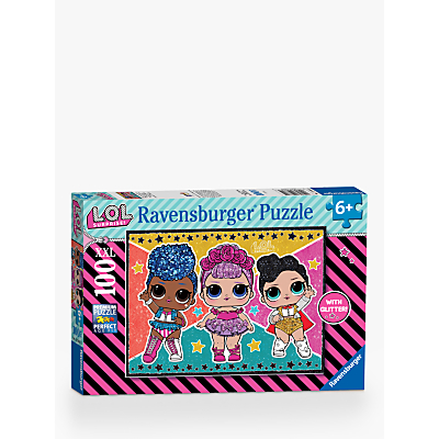 Image of Ravensburger L.O.L Surprise! XXL Jigsaw Puzzle, 100 Pieces
