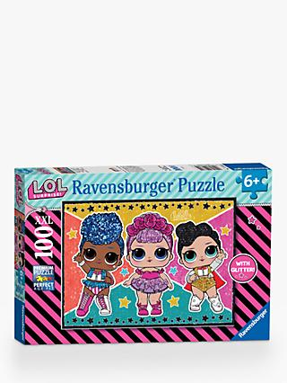 Ravensburger L.O.L Surprise! XXL Jigsaw Puzzle, 100 Pieces