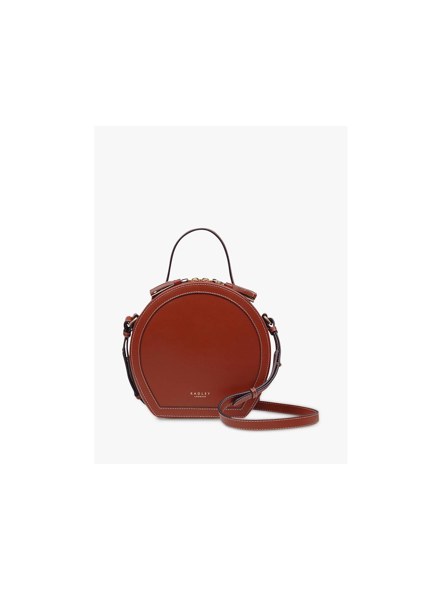 rock-bottom price big clearance sale how to orders Radley Hazel Leather Grab Bag, Brown