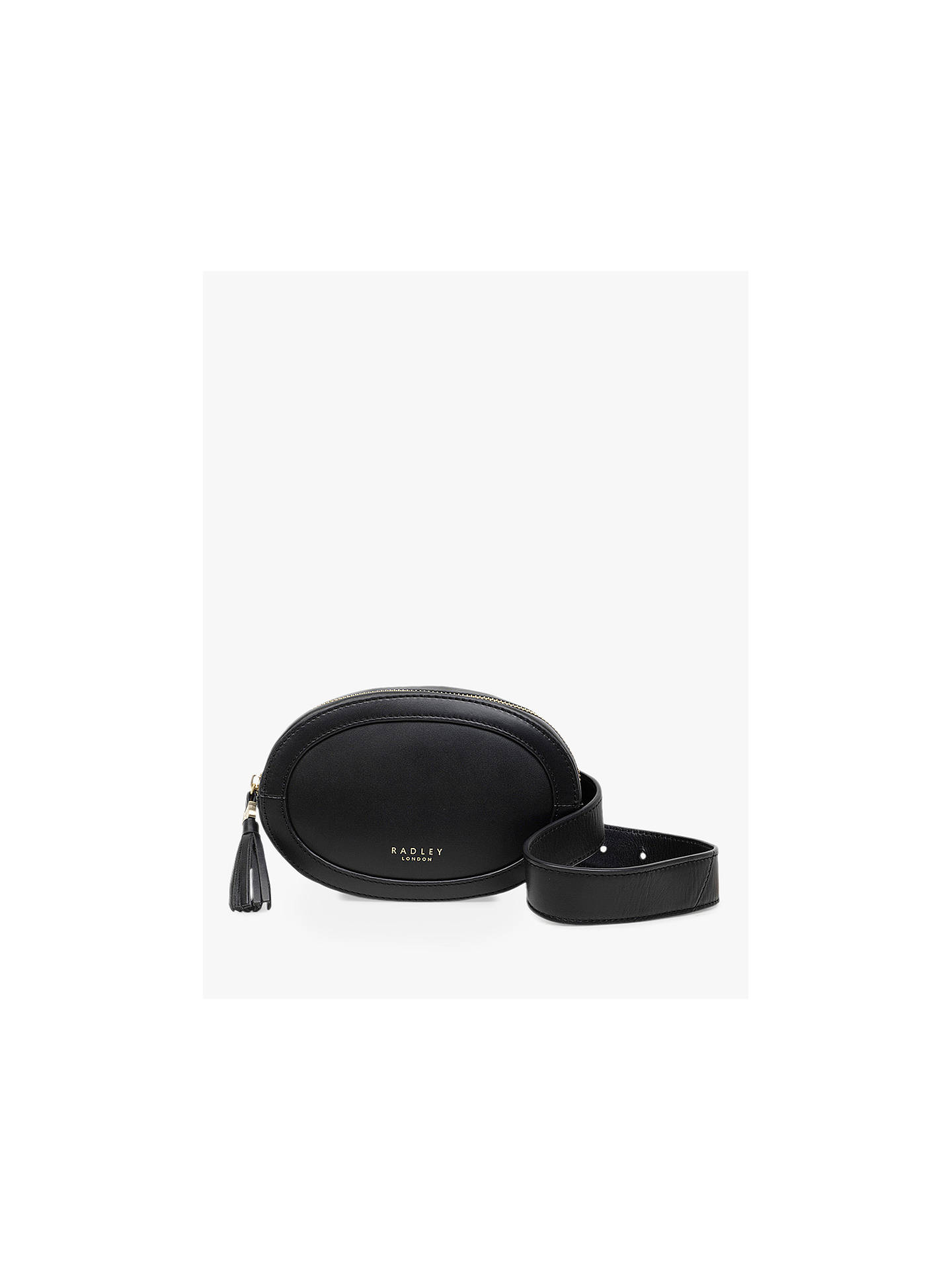 radley-hazel-grove-leather-bumbag,-black by radley