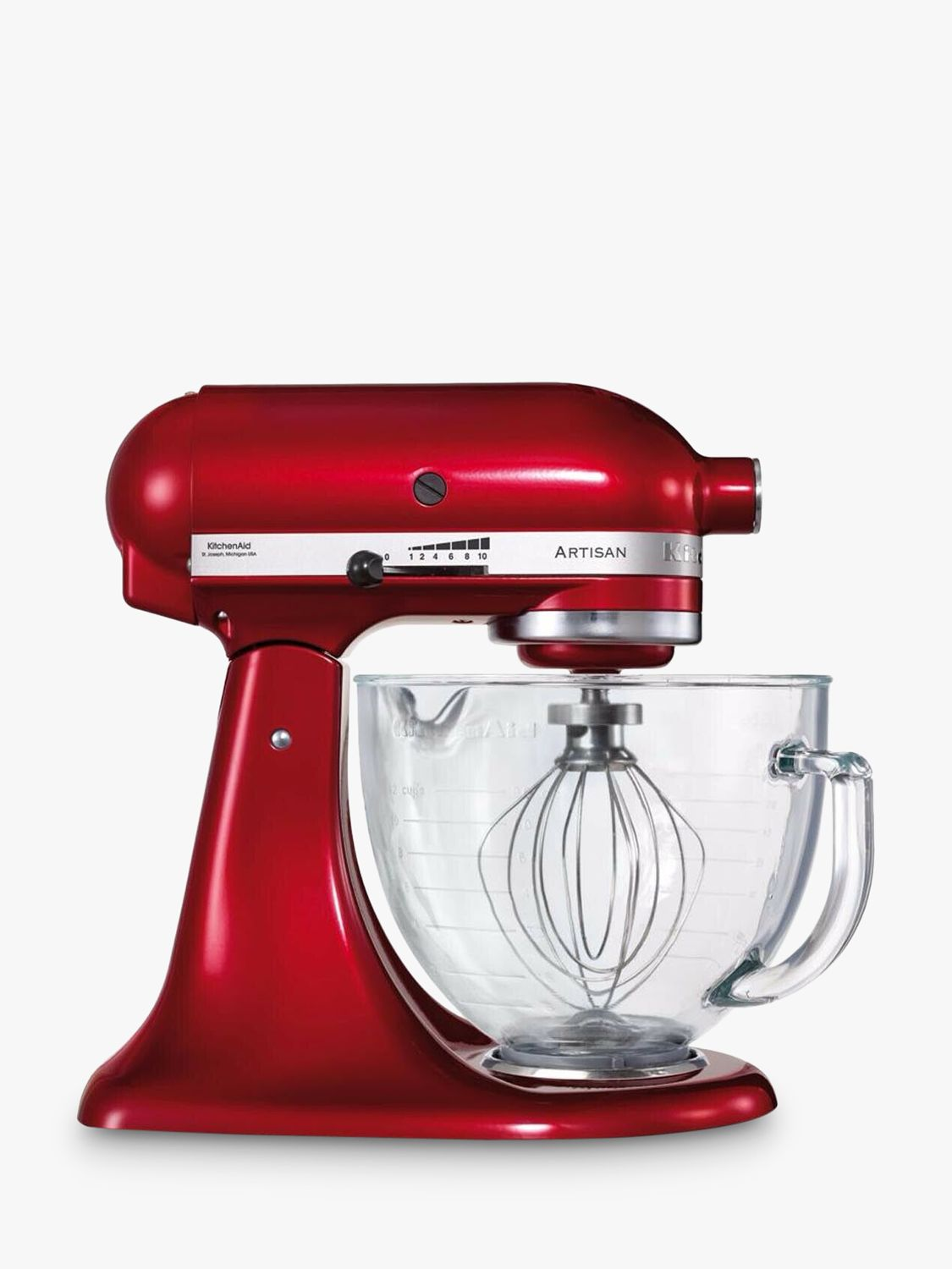 Kitchenaid Artisan 4 8l Stand Mixer Candy Apple Red