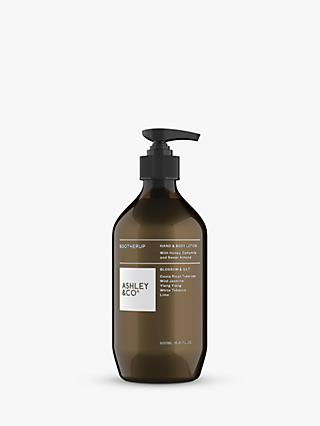 Ashley & Co Blossom & Gilt Sootherup Hand & Body Lotion, 500ml