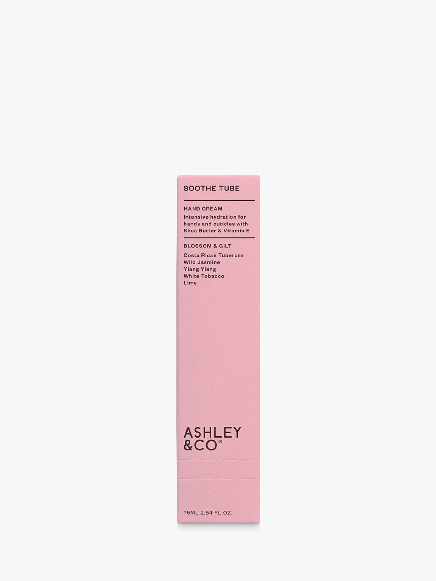 Buy Ashley & Co Blossom & Gilt Soothe Tube Hand Cream, 75ml Online at johnlewis.com