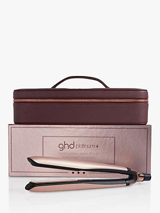 ghd Platinum+ Straighteners Limited Edition Gift Set, Rose Gold