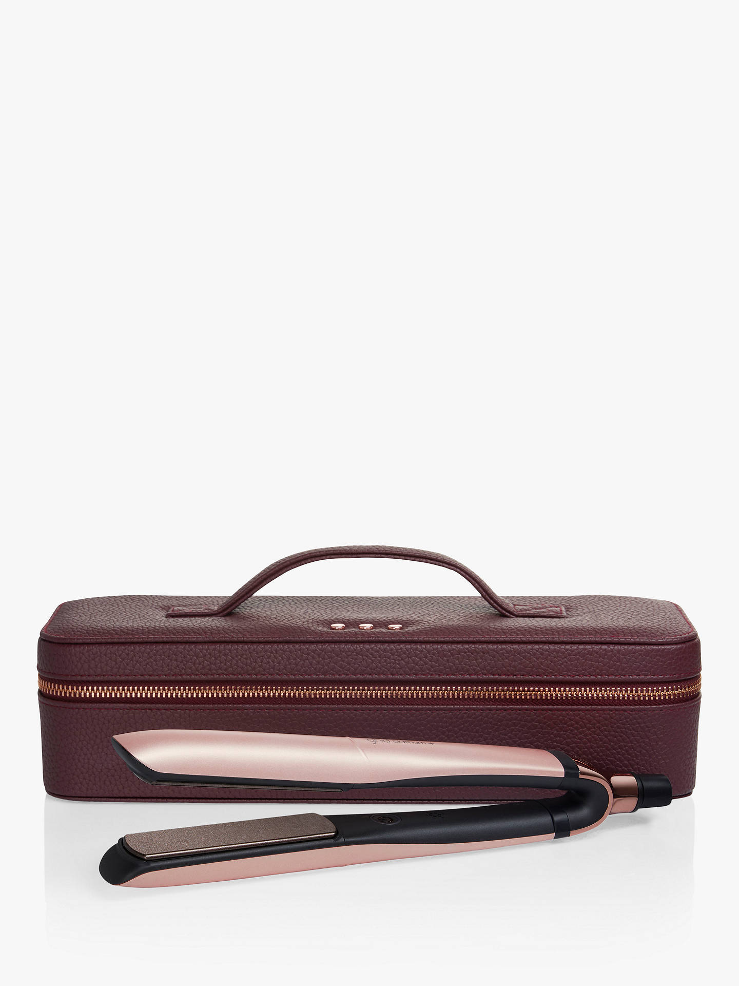 Buy ghd Platinum+ Straighteners Limited Edition Gift Set, Rose Gold Online at johnlewis.com