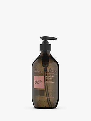 Ashley & Co Peppy & Lucent Washup Hand & Body Wash, 500ml