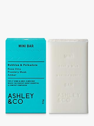 Ashley & Co Bubbles & Polkadots Soap Bar, 90g