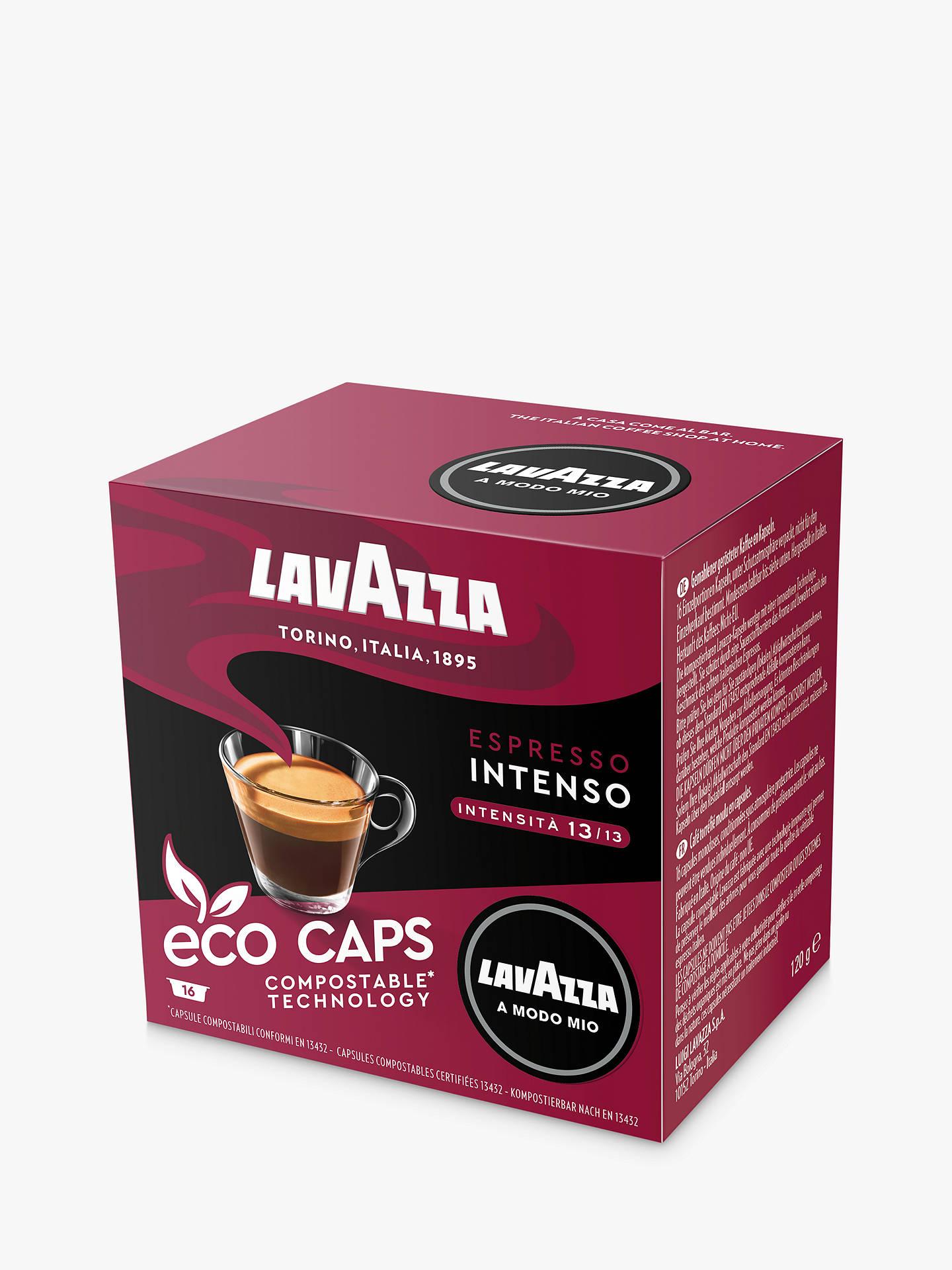 Lavazza Intenso A Modo Mio Espresso Eco Capsules Pack Of 16