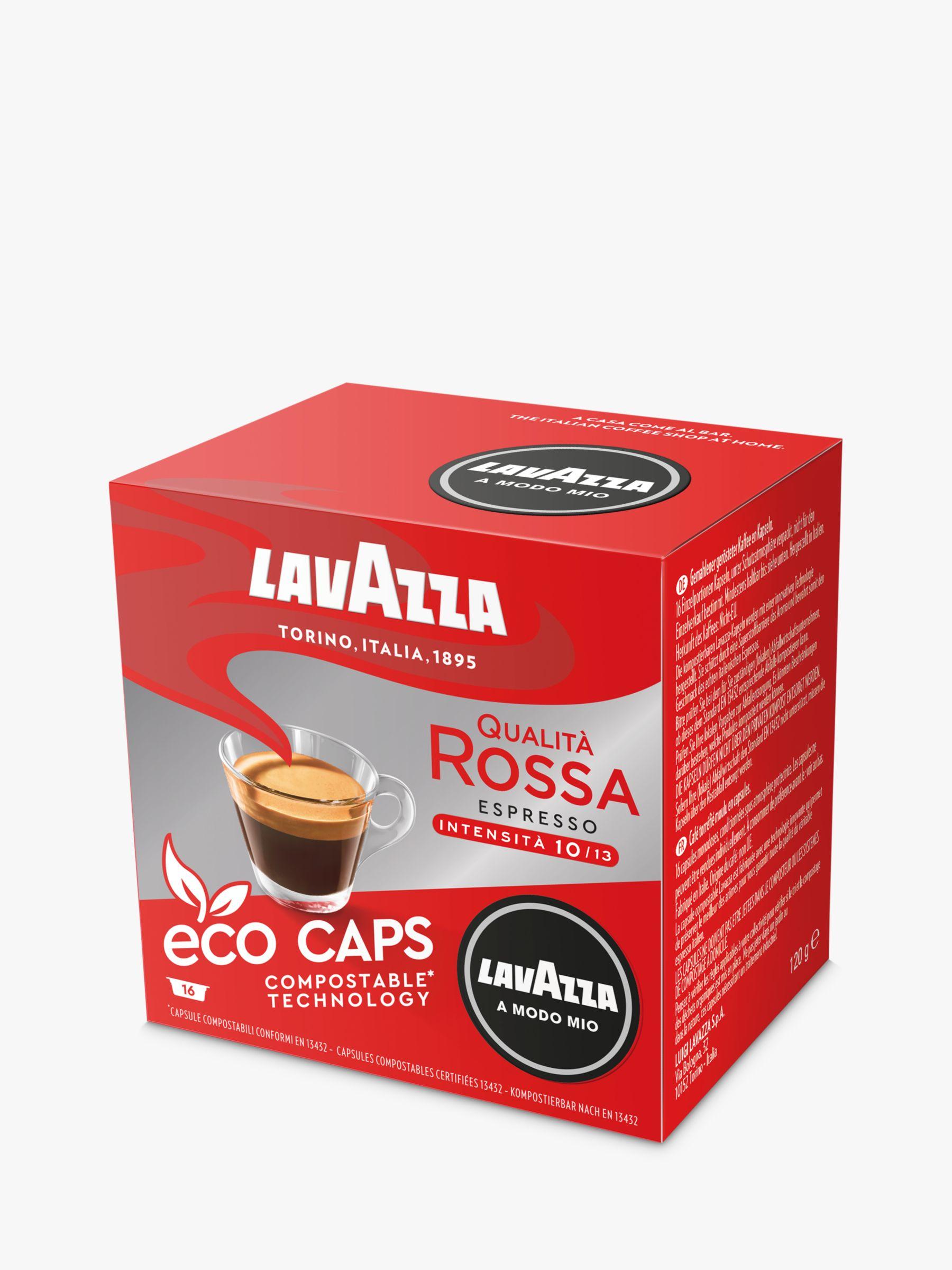 Lavazza Lavazza Qualita Rossa A Modo Mio Espresso Eco Capsules, Pack of 16