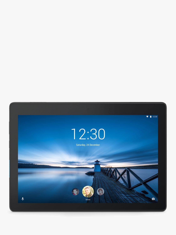 Lenovo Lenovo Tab E10 10.1 Tablet, Android, 16GB, 2GB RAM, Wi-Fi, Slate Black