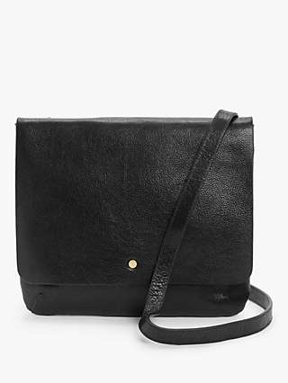 John Lewis & Partners Leather Cross Body Bag
