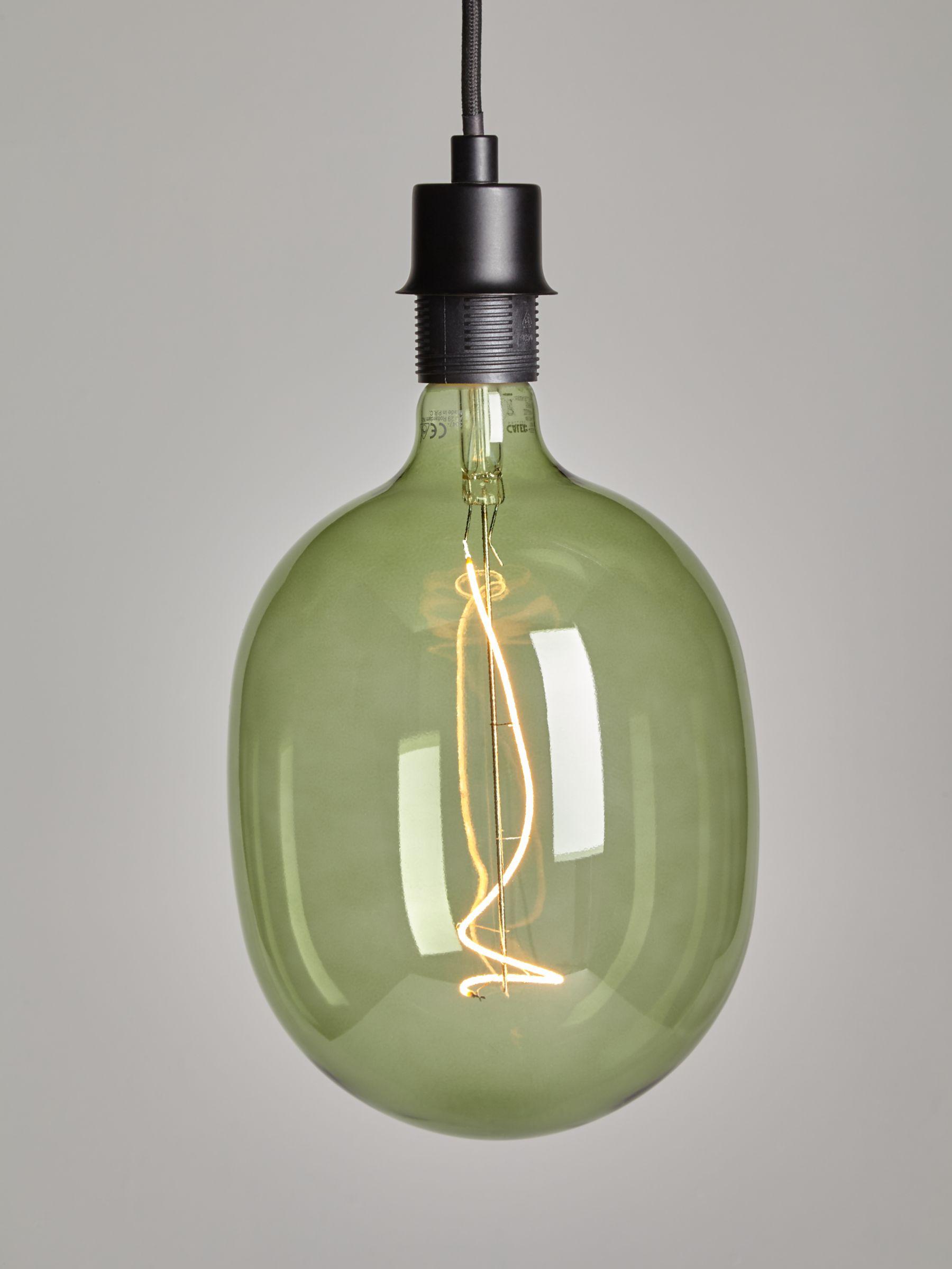 Calex Calex Avesta 4W ES LED Dimmable Filament Bulb, Emerald