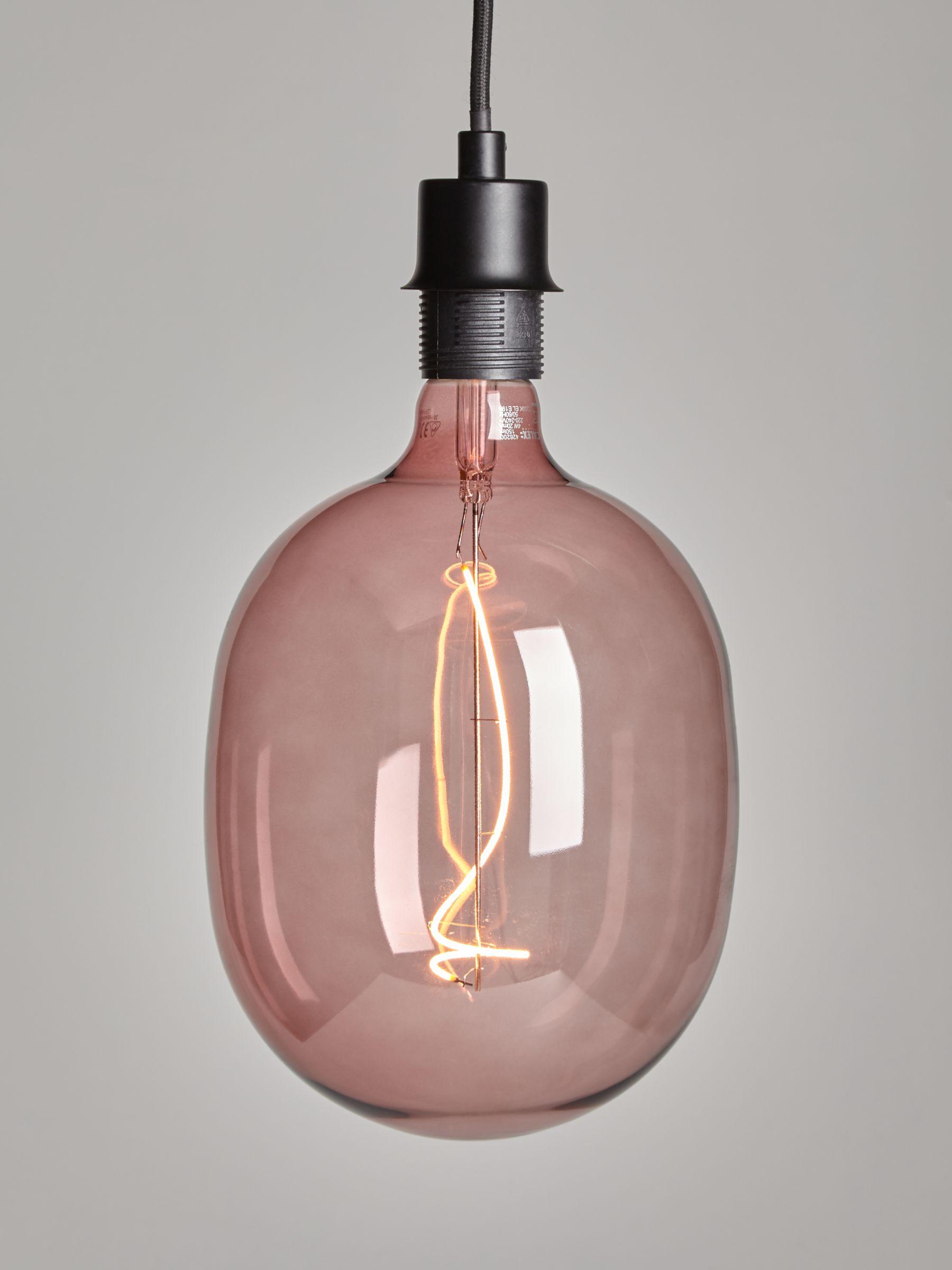 Calex Calex Avesta 4W ES LED Dimmable Filament Bulb, Rose