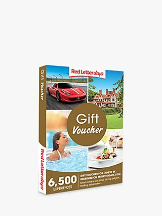 Red Letter Days £100 Gift Experience Voucher