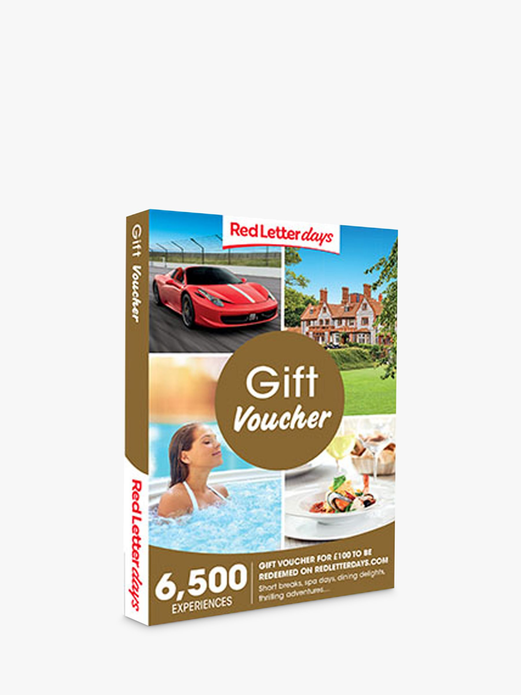 Red Letter Days Red Letter Days £100 Gift Experience Voucher