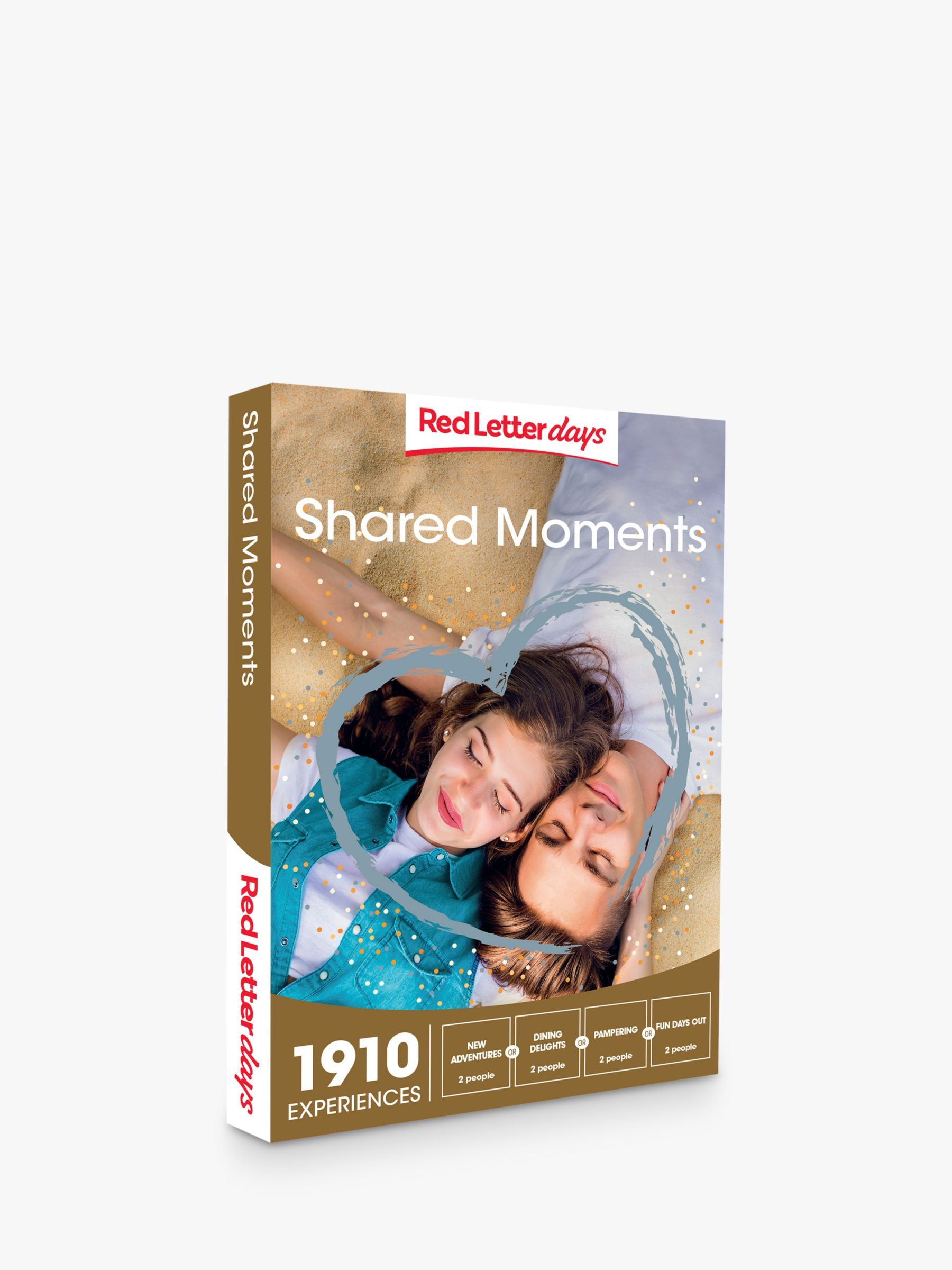 Red Letter Days Red Letter Days Shared Moments Gift Experience
