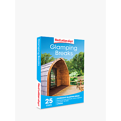Image of Red Letter Days Glamping Breaks Gift Experience