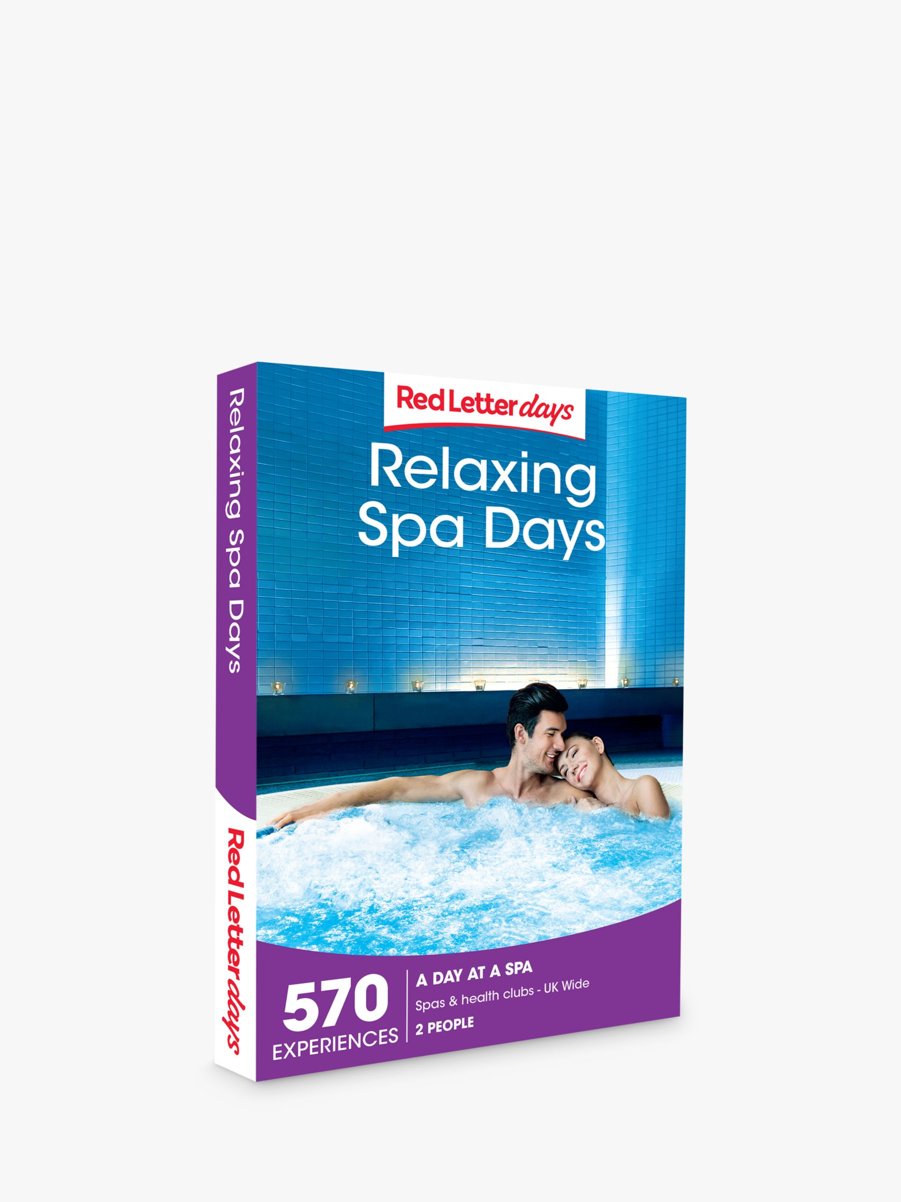 Red Letter Days Red Letter Days Relaxing Spa Days Gift Experience