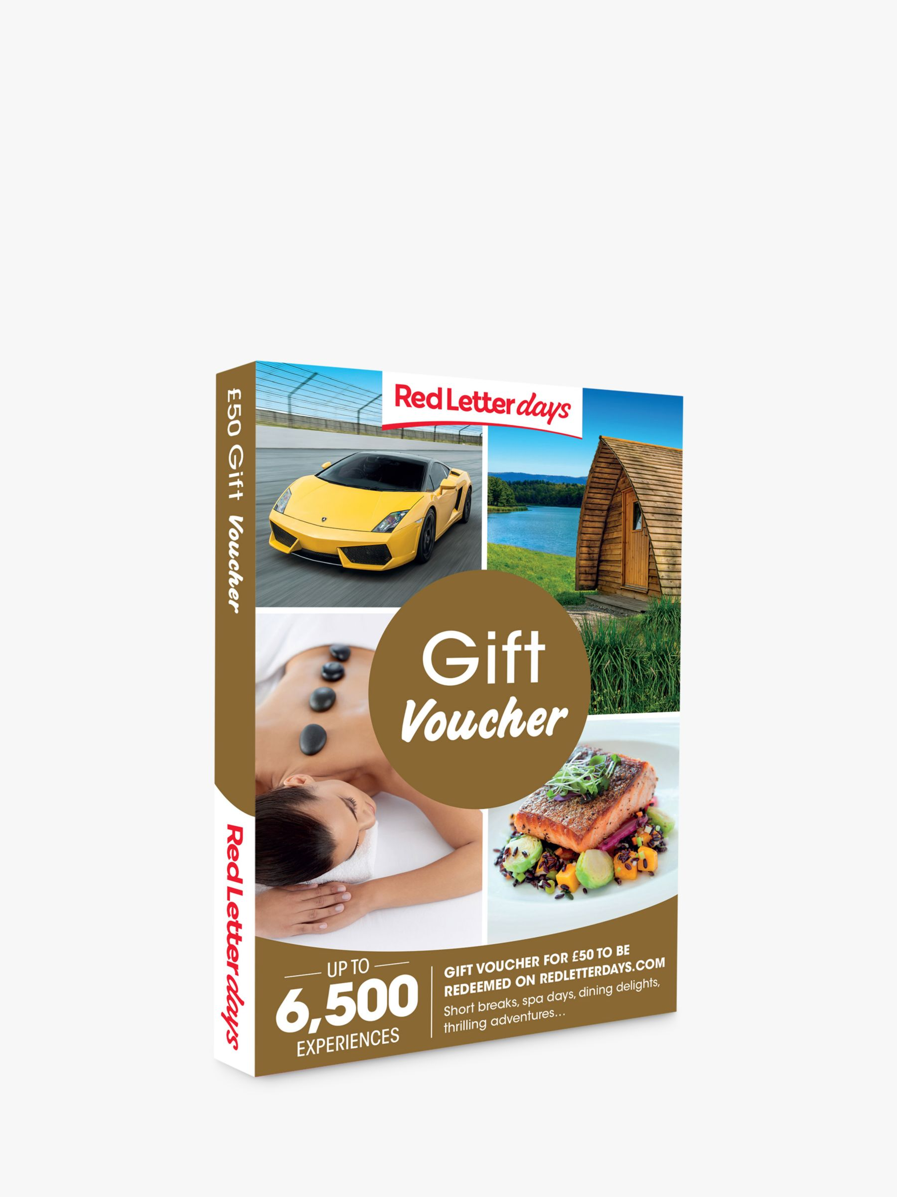 Red Letter Days Red Letter Days £50 Gift Experience Voucher