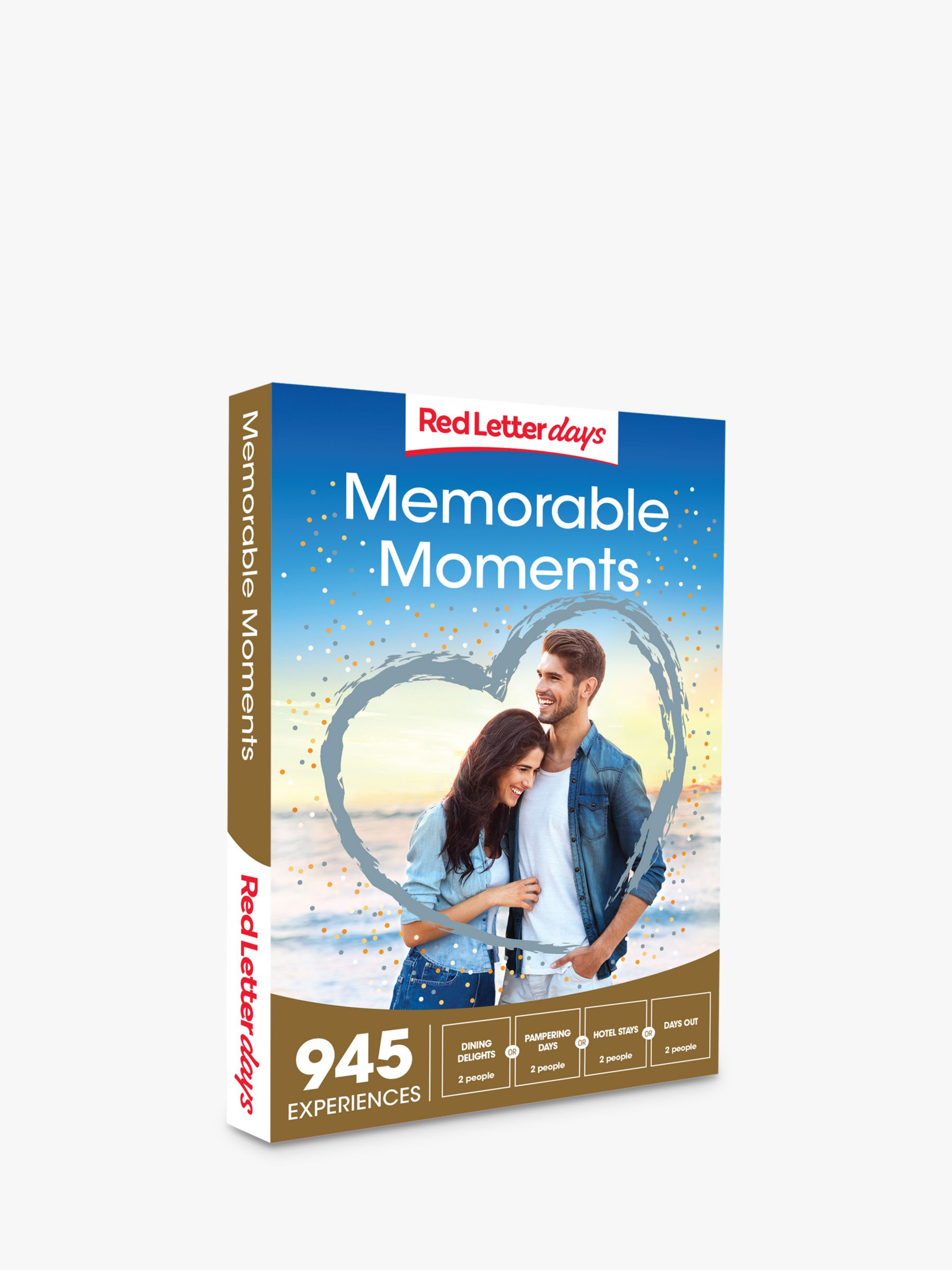 Red Letter Days Red Letter Days Memorable Moments Gift Experience