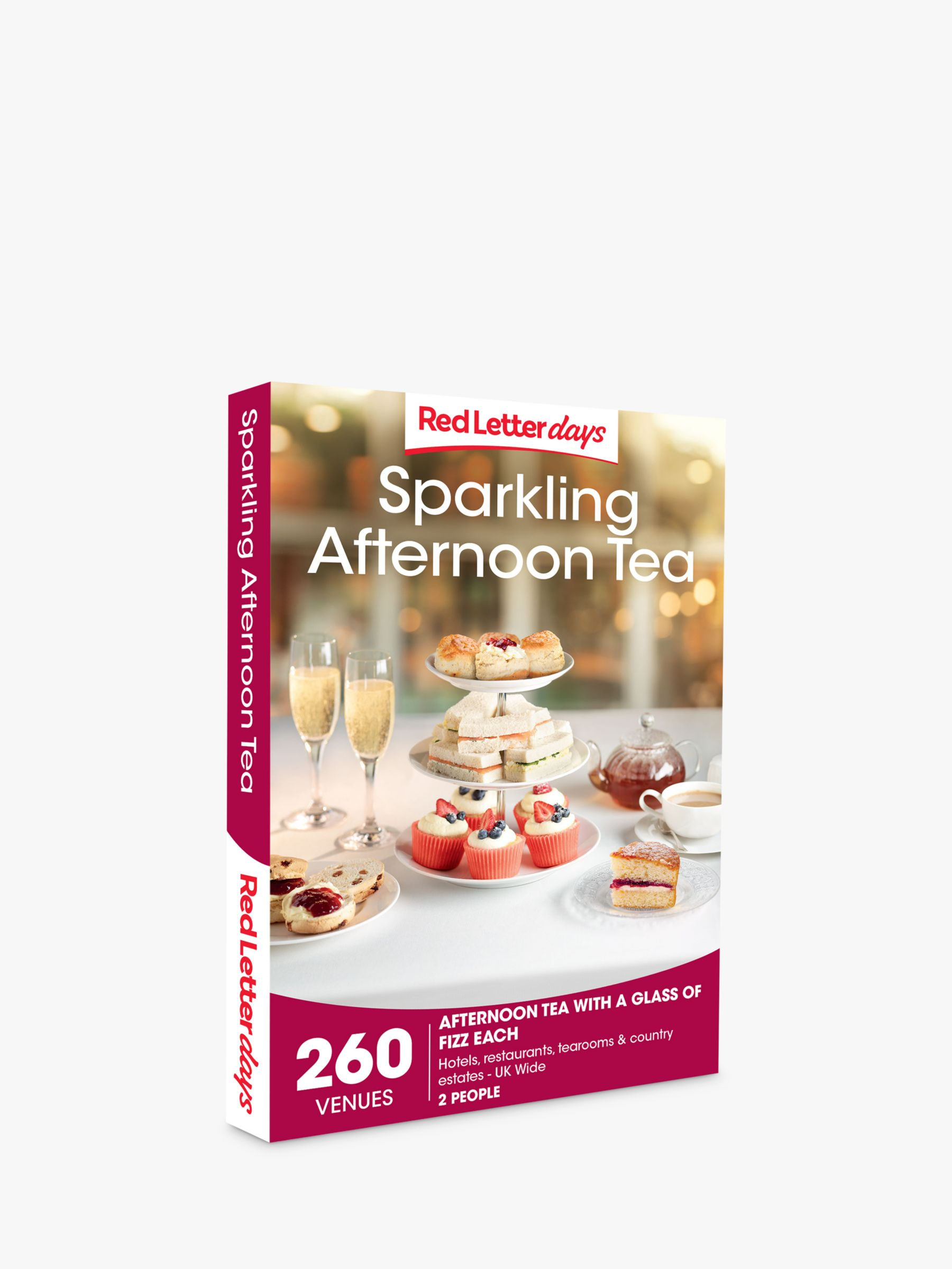 Red Letter Days Red Letter Days Sparkling Afternoon Tea Gift Experience
