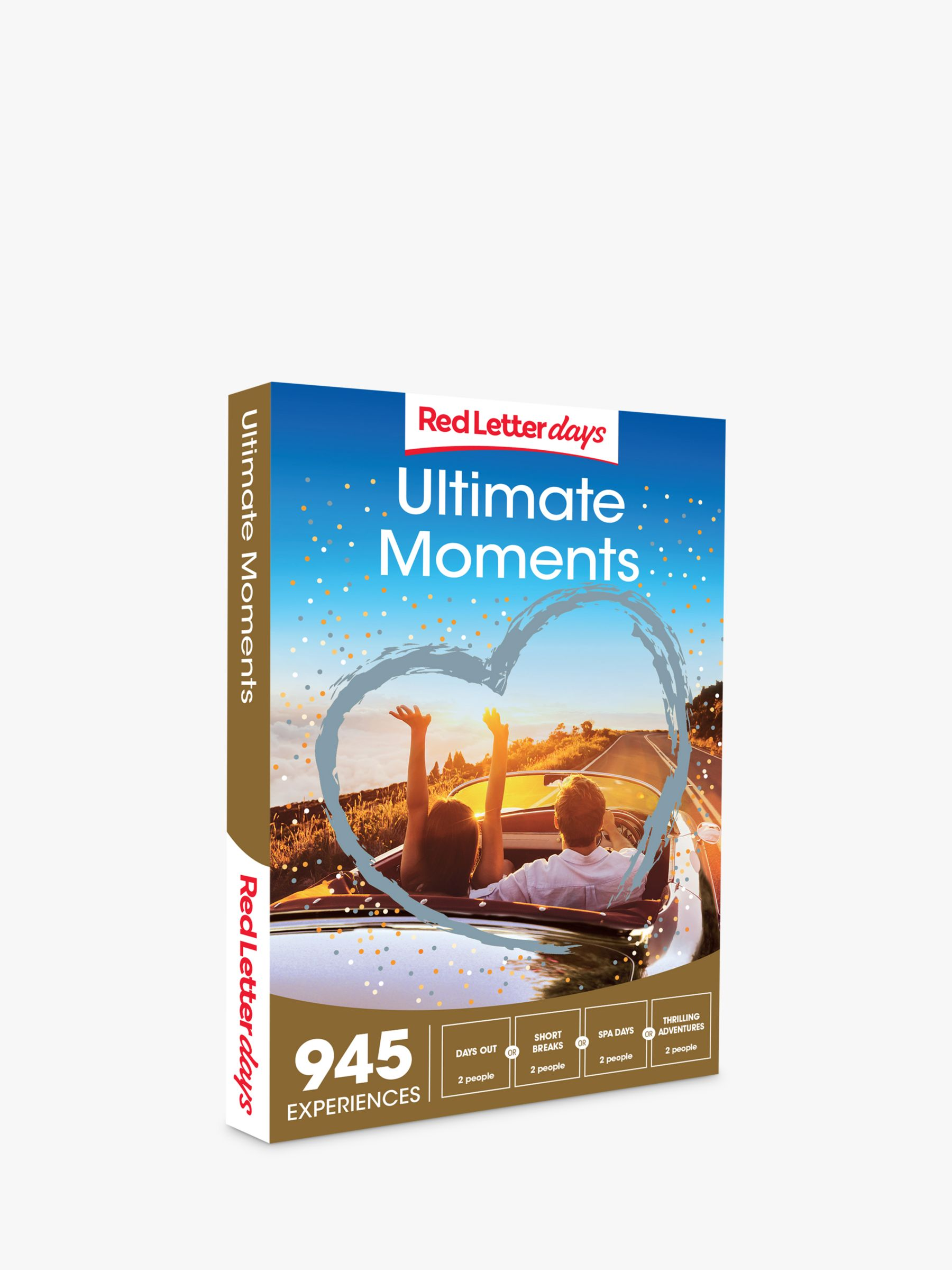 Red Letter Days Red Letter Days Ultimate Moments Gift Experience