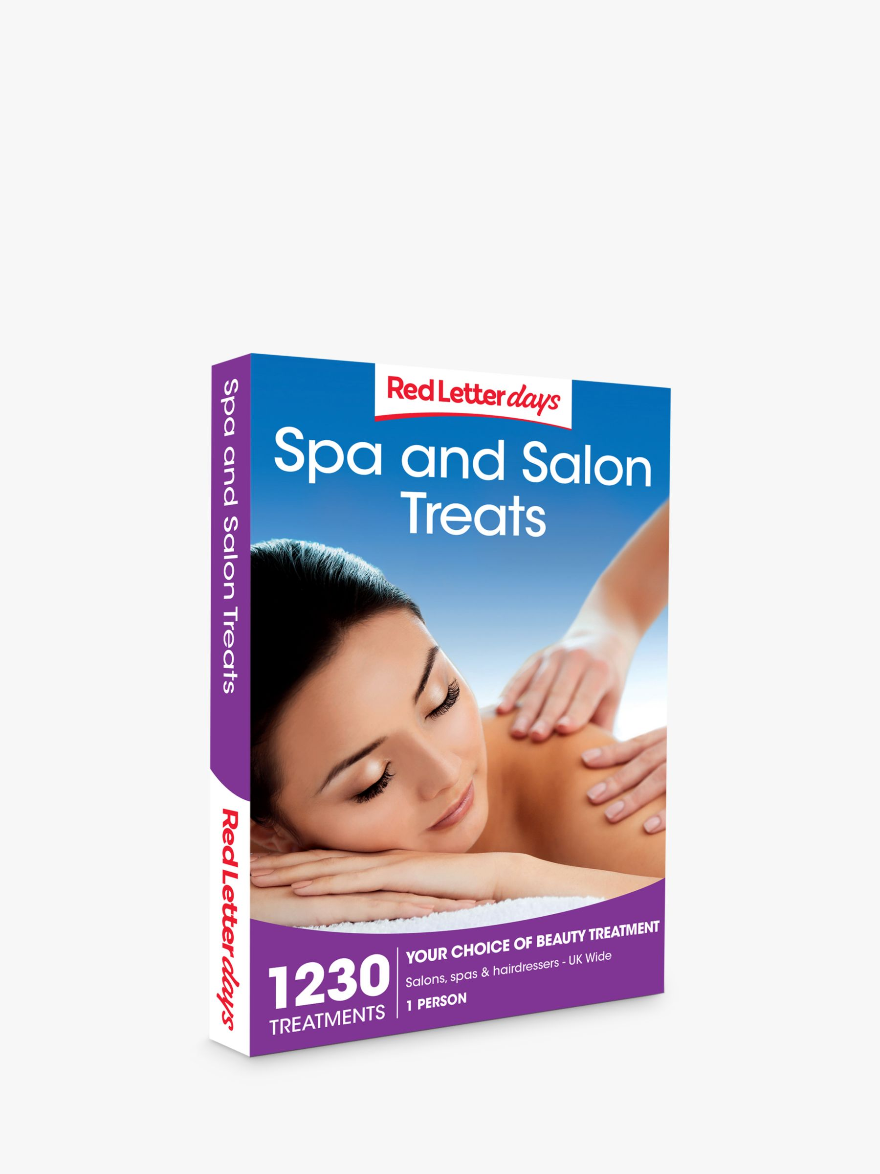 Red Letter Days Red Letter Days Spa and Salon Treats Gift Experience