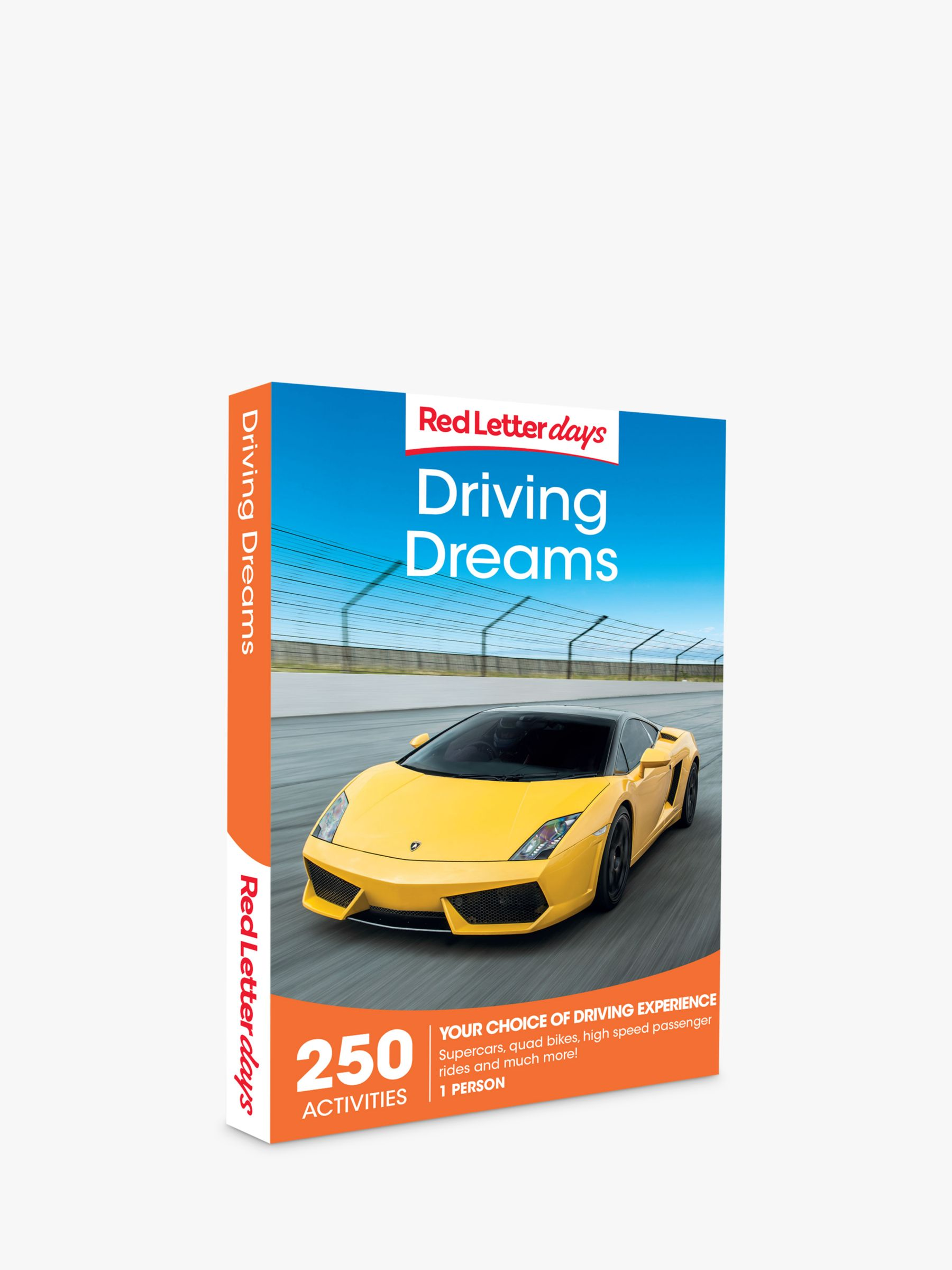 Red Letter Days Red Letter Days Driving Dreams Gift Experience