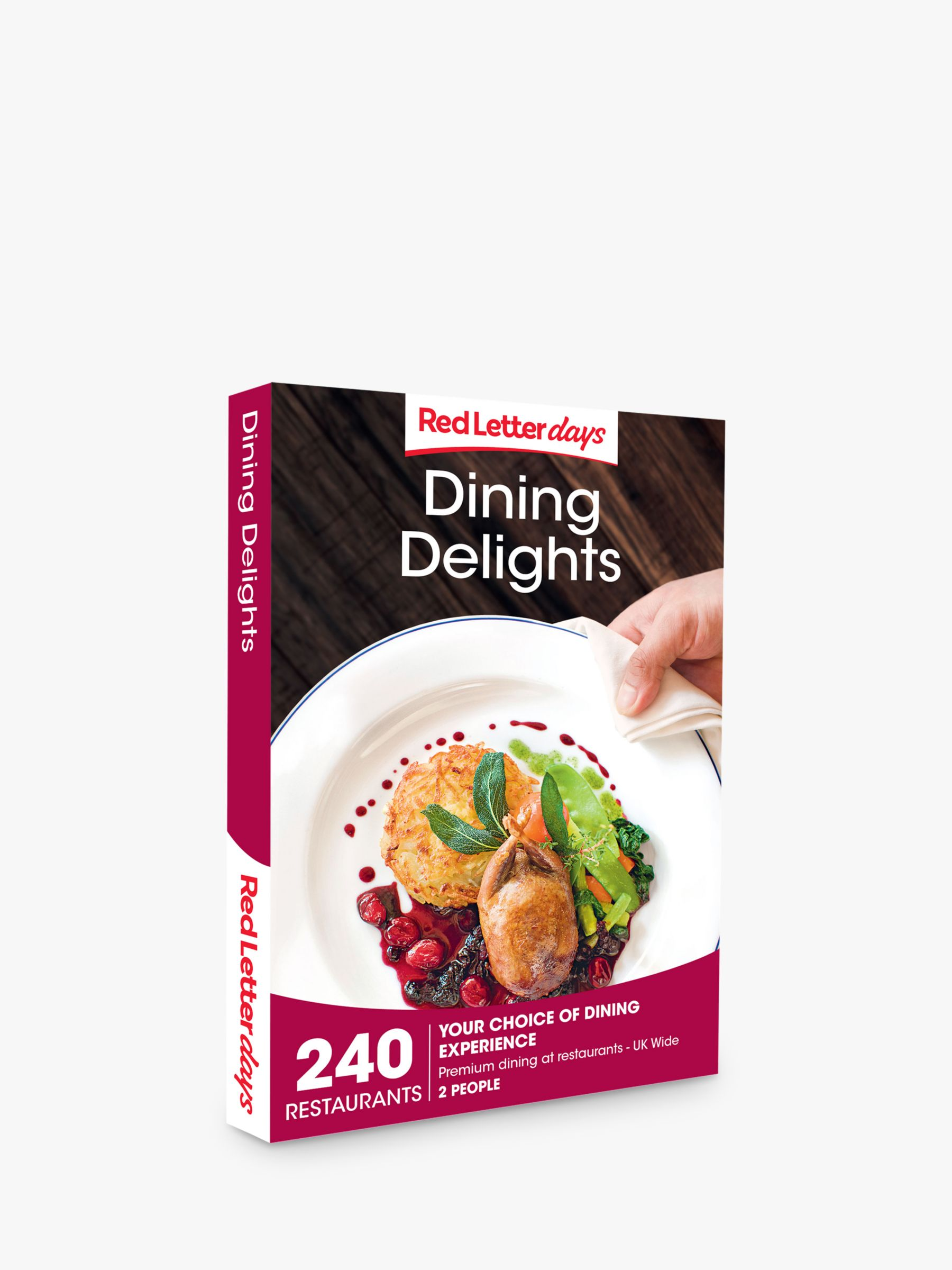 Red Letter Days Red Letter Days Dining Delights Gift Experience
