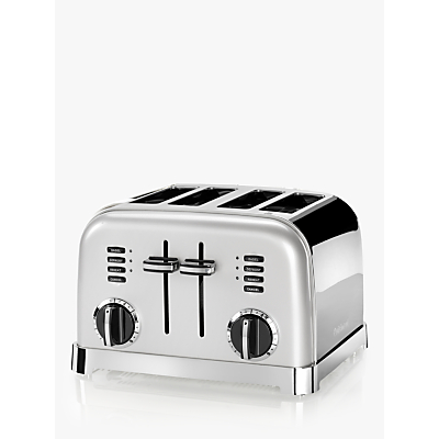 Cuisinart CPT180SU 4-Slice Toaster, Frosted Pearl