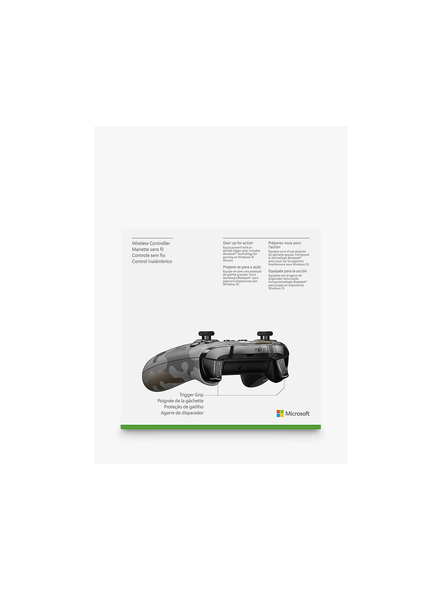 Microsoft Xbox Wireless Controller, Night Ops Camo