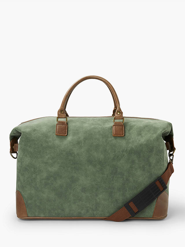 Buy John Lewis & Partners Geneva Large Weekend Holdall, Green Online at johnlewis.com
