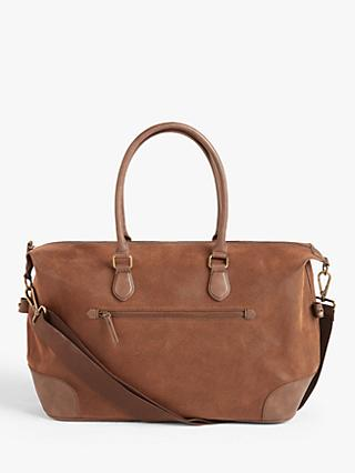 John Lewis & Partners Small Cambridge Holdall, Brown