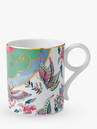 Wedgwood Cuckoo & Butterfly Bloom Posy Small Mug, 200ml, Multi