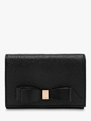 Ted Baker Leonyy Leather Mini Purse, Black