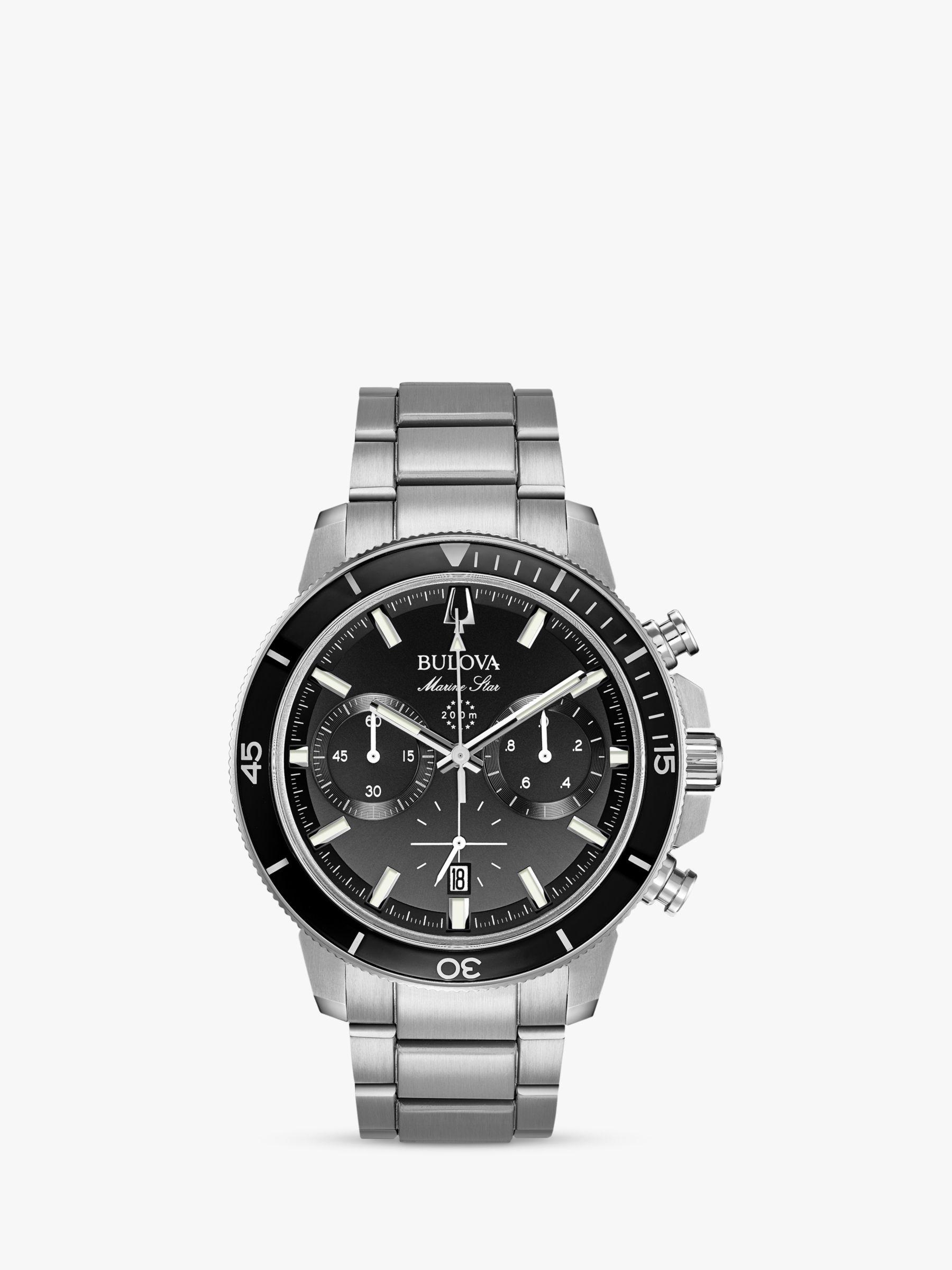 Bulova Bulova Men's Marine Star Chronograph Date Bracelet Strap Watch