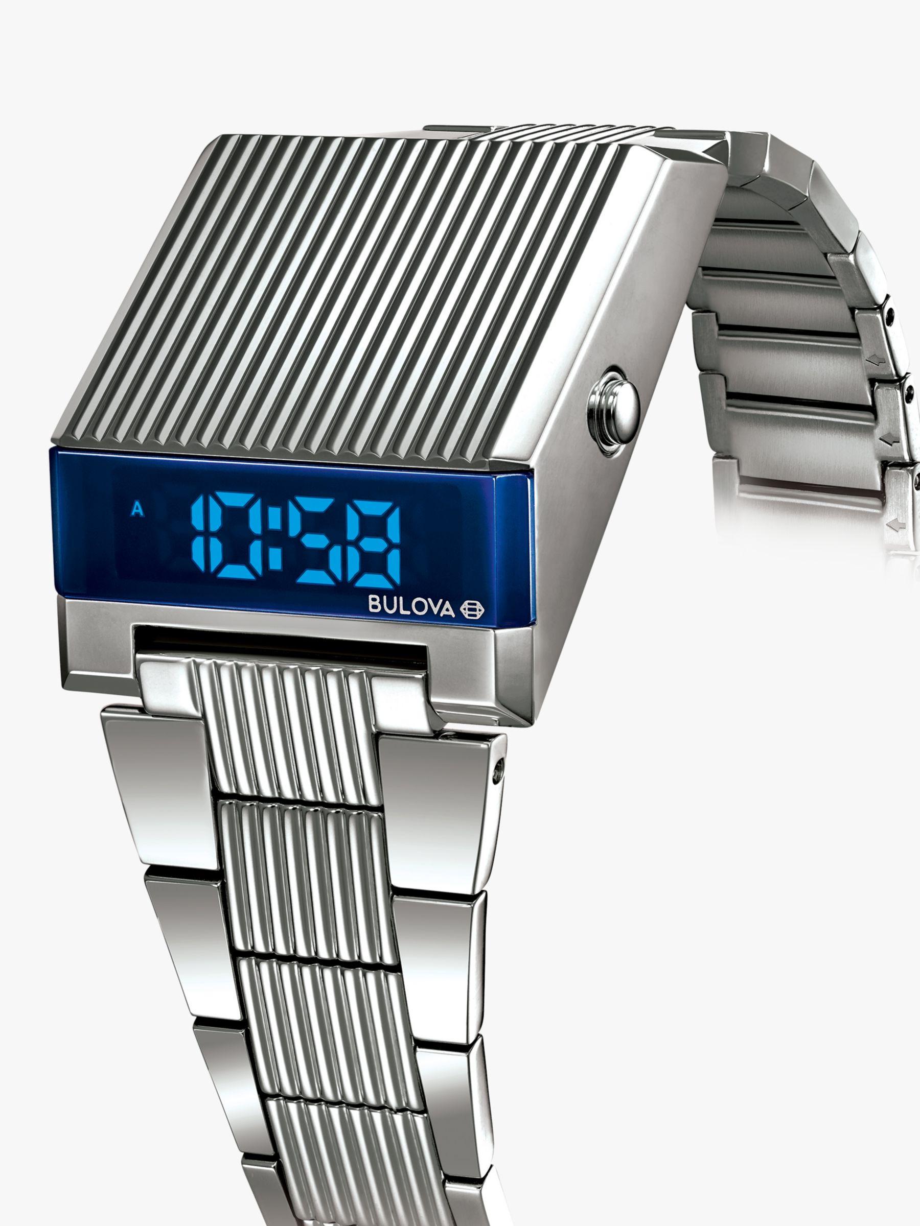 Bulova Bulova Men's Computron Digital Bracelet Strap Watch