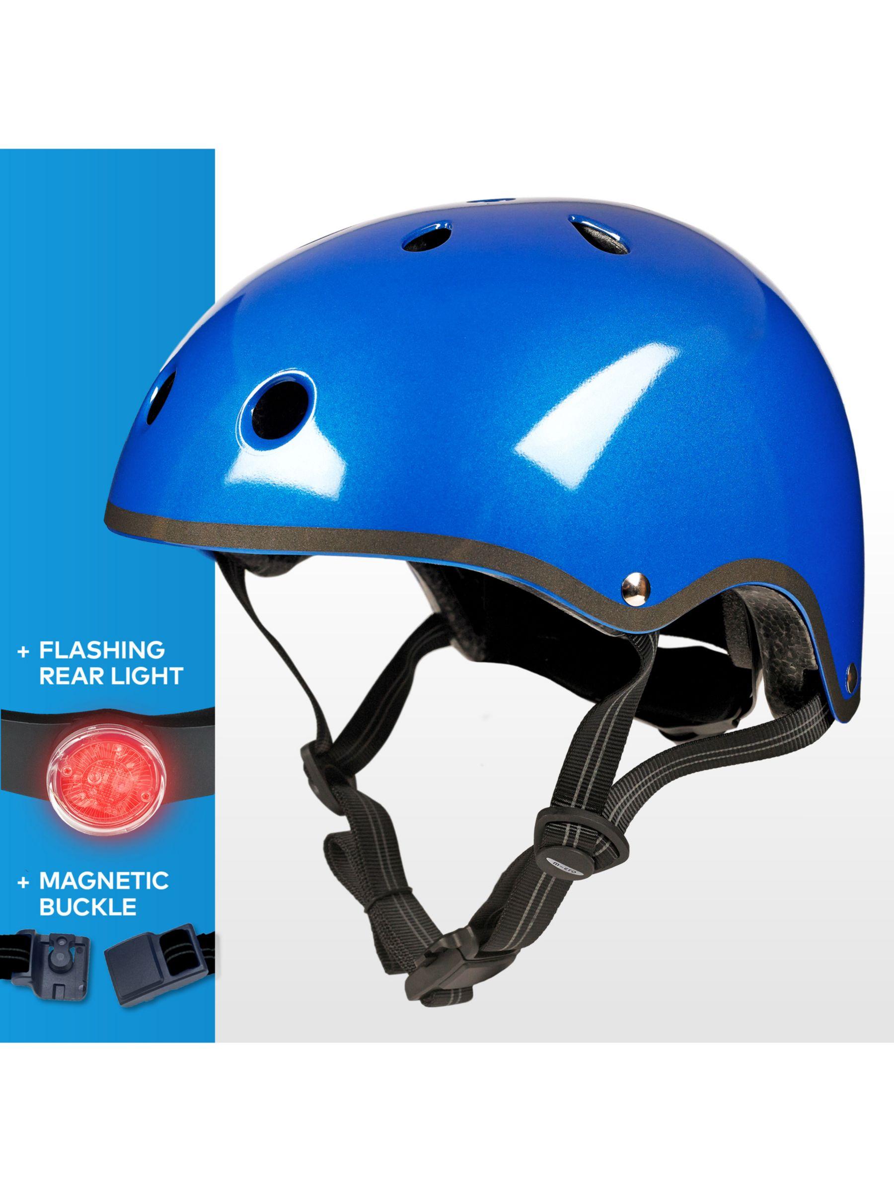 Micro Micro Scooter Medium Safety Helmet, Metallic Blue