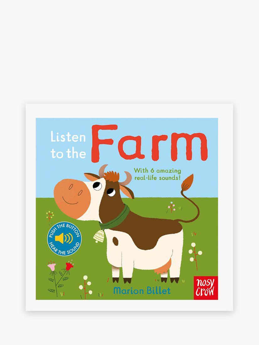 Nosy Crow Listen To The Farm Children's Book