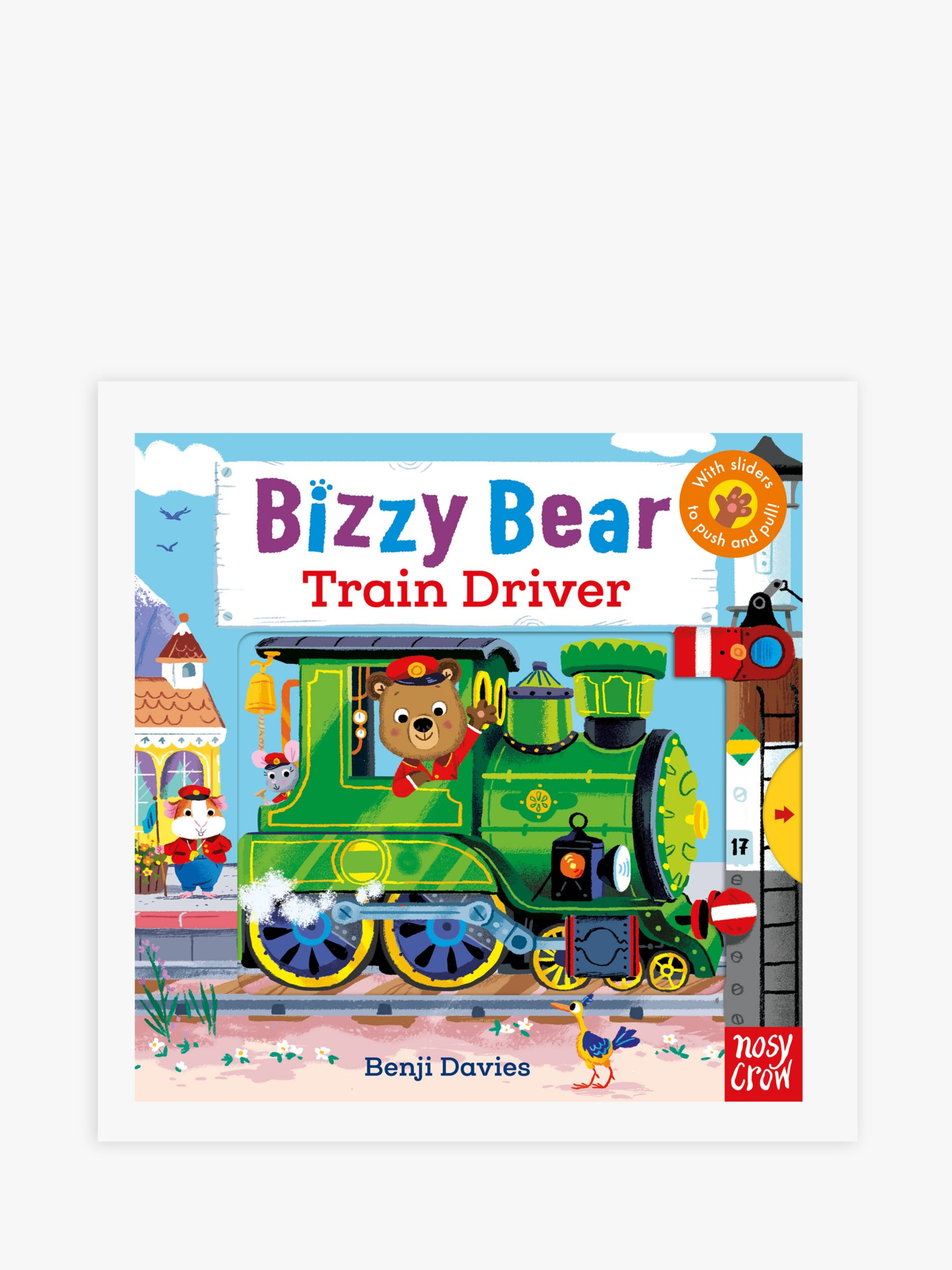 Nosy Crow Bizzy Bear Train Driver Children's Book