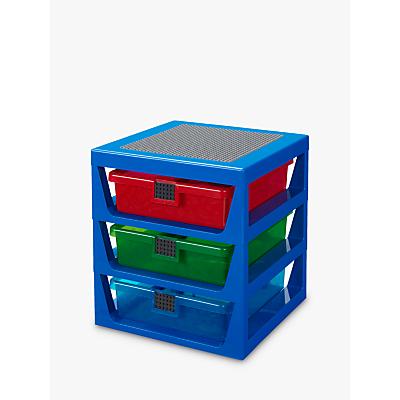 LEGO Storage 3 Drawer Rack